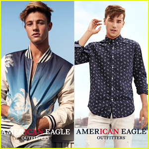Cameron Dallas & Jacob Whitesides Star in American Eagle's New CANdids Campaign!