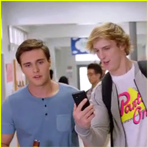 VIDEO: Logan Paul & The  'Foursome' Boys Band Together In Exclusive Clip