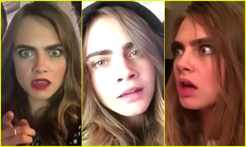 Cara Delevingne's Dubsmash Is the Best Thing You'll See Today - No, Seriously!