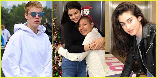 Happy New Year! Selena Gomez's Hospital Visit & 7 More Acts of Kindness that Will Make Your Heart Melt