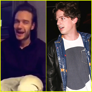 Liam Payne Does 'Family Guy' Impressions on Charlie Puth's Snapchat