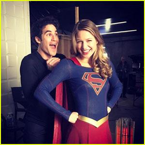 Darren Criss Kicks Off 'Supergirl' Filming