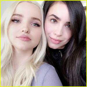 Descendants' Dove Cameron & Sofia Carson Reunite In Cute Snapchat Pic
