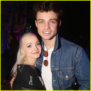 Dove Cameron & 'Descendants 2' Co-Star Thomas Doherty Fuel Dating Rumors!