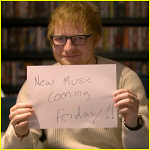 Ed Sheeran Announces His Return to Music in 2017!