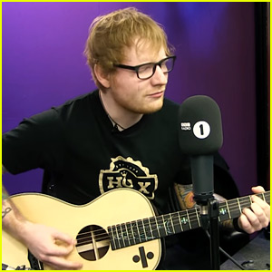 Ed Sheeran Gives First Live Performance of 'Castle on the Hill'