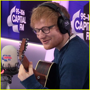 VIDEO: Ed Sheeran Just Proved He Can Sing Literally Anything