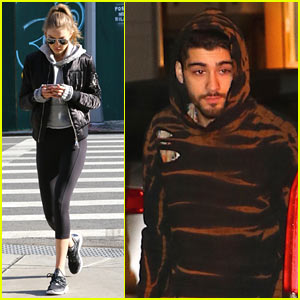 Gigi Hadid & Zayn Malik Step Out Separately in NYC