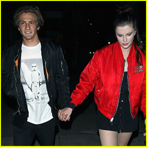 Ireland Baldwin & Boyfriend Noah Schweizer Hold Hands For Date Night