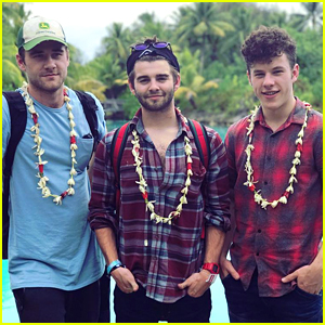 Jack Griffo Shares Bora Bora Vacation Pics with Ariel Winter, Luke Benward & Nolan Gould