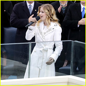 VIDEO: Watch Jackie Evancho's Inauguration Performance!