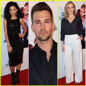 James Maslow & Bianca A. Santos Premiere '48 Hours To Live' in Hollywood
