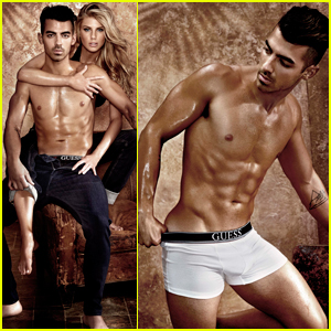 Joe Jonas Bares It All In 'Guess' Underwear Campaign