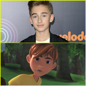 EXCLUSIVE: Johnny Orlando Dishes on New Movie 'Bunyan & Babe' (VIDEO)