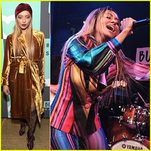 VIDEO: Kat Graham Performs Hit Song 'All Your Love' at BUILD Studio Opening
