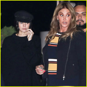 Kendall Jenner Meets Up with Caitlyn for Dinner!