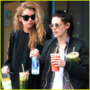 Kristen Stewart & Girlfriend Stella Maxwell Enjoy Smoothie Date!