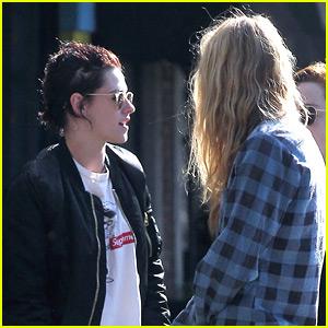 Kristen Stewart Grabs Lunch with New Girlfriend Stella Maxwell