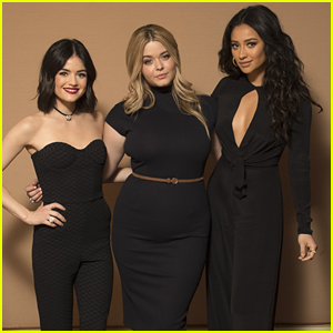 'Pretty Little Liars' Stars Lucy Hale & Sasha Pieterse Dish on Show's Musical Number