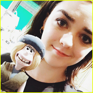 Maisie Williams Shares First Look at 'Early Man' Character Goona