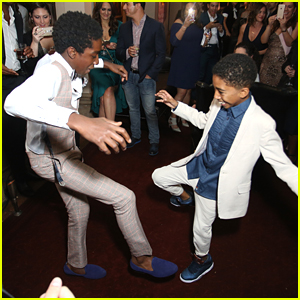 VIDEO: 'black-ish' Star Miles Brown Has Dance Off with Stranger Things' Caleb McLaughlin