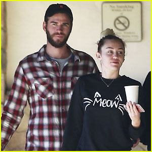 Miley Cyrus & Liam Hemsworth Hang Out in Malibu!