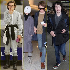 The 'Stranger Things' Cast Get Back to Work After Golden Globes