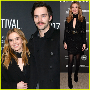 Zoey Deutch Looks Chic at Second Sundance Premiere with Nicholas Hoult!