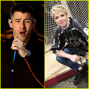 Carly Rae Jepsen Goes Blonde for NHL All-Star Game 2017!
