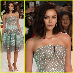 Nina Dobrev Shows Off New Short Haircut at 'xXx': Return of Xander Cage' London Premiere