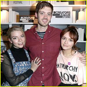Olivia Cooke & Anya Taylor-Joy Brave Cold At Sundance For New Film 'Thoroughbred'