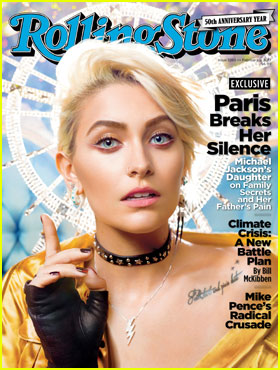 Paris Jackson Covers 'Rolling Stone,' Talks About Late Father Michael