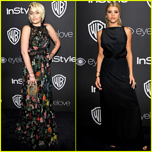 Paris Jackson Makes Appearance at Golden Globes 2017 After Party!