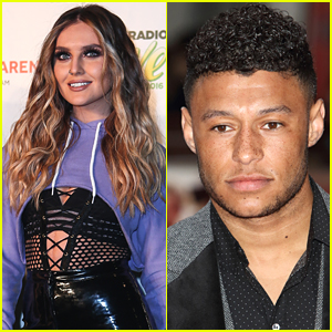 Perrie Edwards Snaps Pic of New Boyfriend Alex Oxlade-Chamberlain & His Dogs