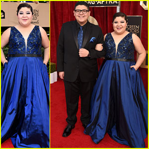 Raini & Rico Rodriguez Make the Perfect Sister/Brother Team at SAG Awards 2017