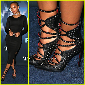 Serayah's Cesare Paciotti Heels Are To Die For!