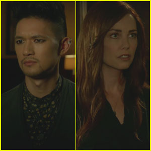 Shadowhunters Exclusive Clip: Magnus Protects Alec & Calls Out Jocelyn!