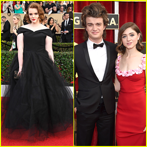 'Stranger Things' Shannon Purser Looks Like A Princess at SAG Awards 2017