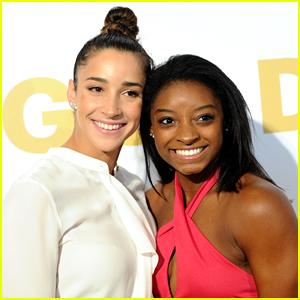Final Five Gymnasts Simone Biles & Aly Raisman To Attend Golden Globes on Sunday