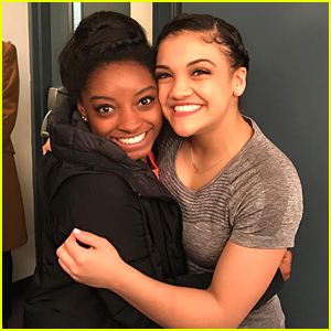 Simone Biles Tried To Surprise Laurie Hernandez on the DWTS Tour