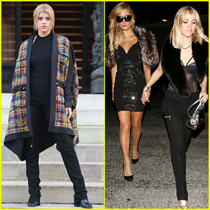 Sofia Richie Spends Weekend in London & Paris!