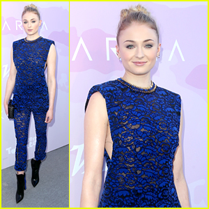 Sophie Turner Wears Jumpsuit Of Our Dreams to Variety's SAG Awards Brunch