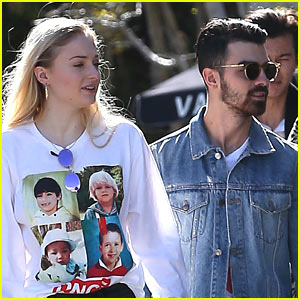 Sophie Turner Shows Off her Love for DNCE!