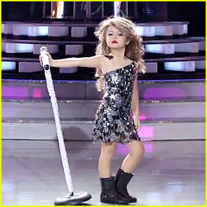 VIDEO: Xia Vigor, 7, Does Adorable Impression of Taylor Swift!