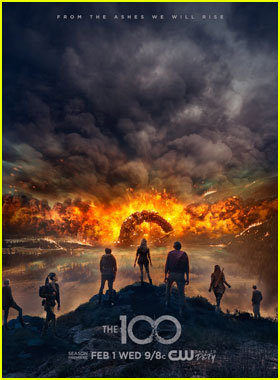 'The 100' Characters Rise From the Ashes in New Season Four Poster!