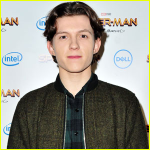 Tom Holland Helps Unveil Spidey Suit Update