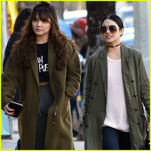 Vanessa Hudgens & Younger Sister Stella Rock Matching Outfits