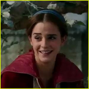 VIDEO: Emma Watson's Belle Gets Wooed By Dan Stevens' Beast in New 'Beauty & the Beast' Clip