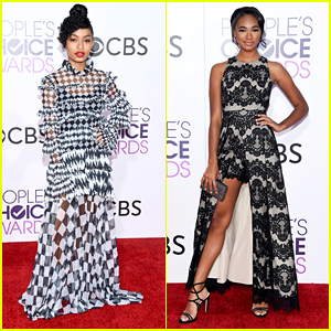 Yara Shahidi Is The Coolest Checkerboard Chick at People's Choice Awards 2017