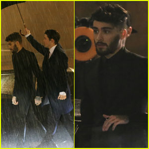 Zayn Malik Films 'I Don't Wanna Live Forever' Music Video In These New Set Photos